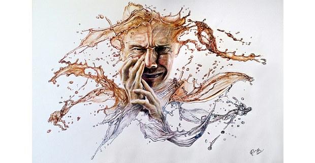Sollozo relegado. Ilustración de Uriel Cruz Roque