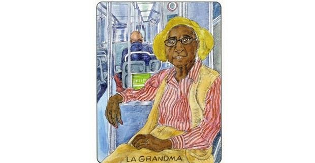 Ilustración: José Lozano. Tomado de The Art of Who I Am, Santa Cruz Writes, abril de 2015