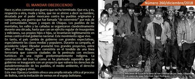 Milicianos de EZLN en la toma de San Cristóbal de Las Casas, Chiapas, 1 de enero de 1994. Foto José Ángel Rodríguez
