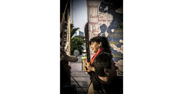 Encuentro en Atenco por el lago, la vida y la libertad