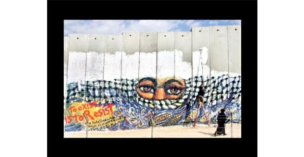 Muro israelí. Gustavo Chávez Pavón.
