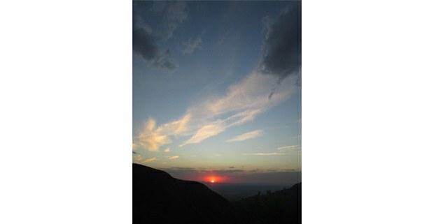 Atardecer en Wirikuta, Real de Catorce, SLP. Foto: Ojarasca