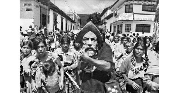 El decapitado, San Cristóbal de Las Casas, 1992. Foto: Antonio Turok