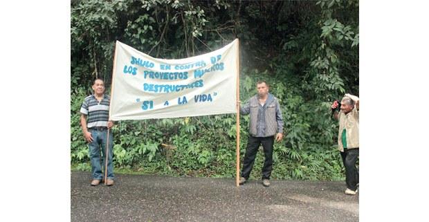 Zoques de Chiapas por la vida. Foto: Fernando Ledesma