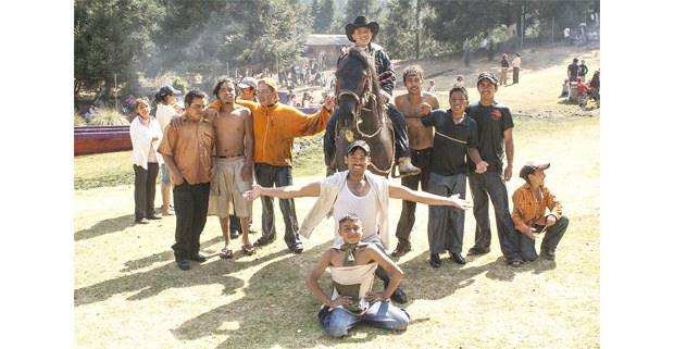 Sábado de Gloria en Santa Cruz, Pueblo Nuevo, Edomex. Foto: Jerónimo Palomares