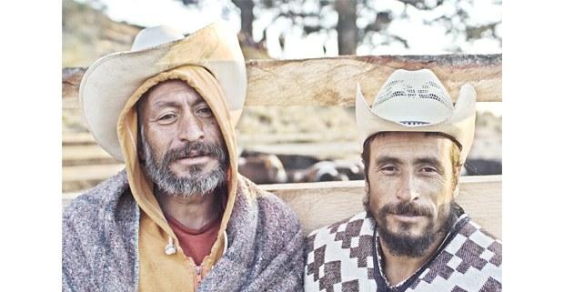 Carmelo y Rafael Velázquez, Santa Cruz, Pueblo Nuevo, Edomex. Foto: Jerónimo Palomares