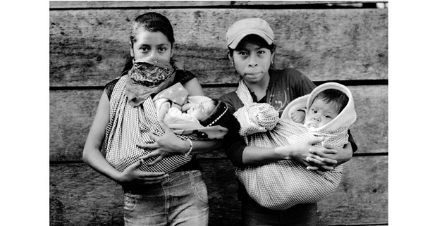 Comunidad zapatista La Garrucha, Chiapas. Foto: Mario Olarte