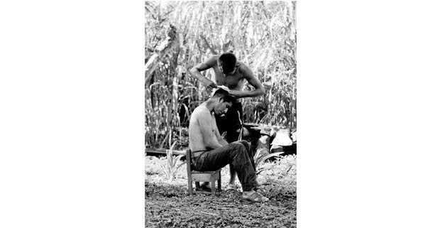 Comunidad zapatista La Garrucha, 8 Chiapas. Foto: Mario Olarte
