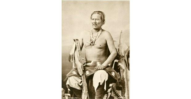 Manuelito/Daháana Baadaaní, jefe guerrero y estadista navajo. Foto: C. M. Bell, 1874