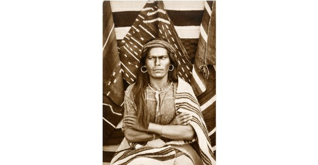 """Gran Navajo"", Walpi, Arizona. Foto: John K. Hillers, 1879"