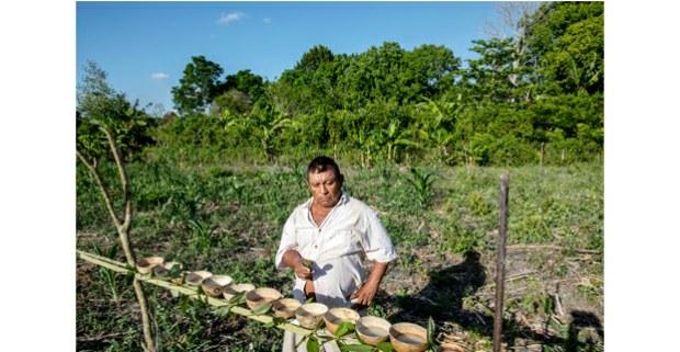 Ceremonia del maíz. Buena Esperanza, Bacalar, Quintana Roo. Foto: Maya Goded
