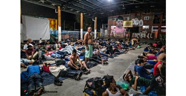 Migrantes centroamericanos en Tenosique Tabasco, 2019. Foto: Maya Goded
