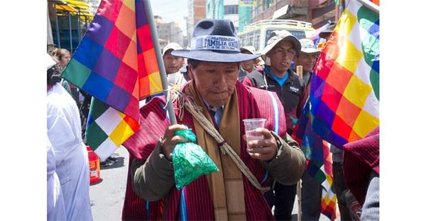 El Alto en las calles de La Paz. Foto: Gerardo Magallón