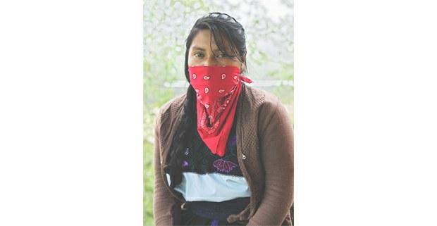 Mujer zapatista de Oventik. Foto: Mario Olarte