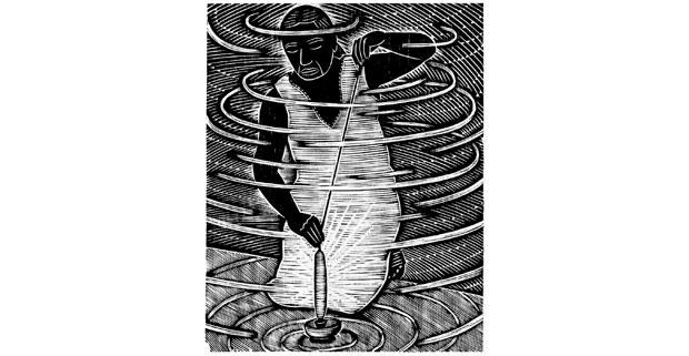El algodón, grabado de Alec Dempster