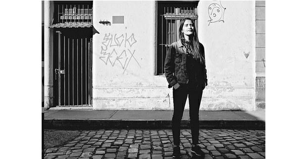 Daniela Catrileo, Santiago de Chile. Foto: escritoresindigenas.cl