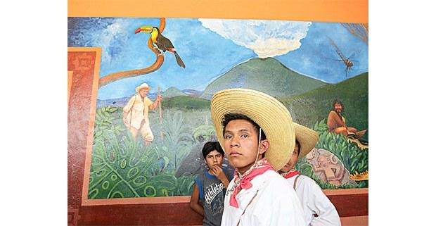 Zoques en Nuevo Carmen Tonapac, Chiapas. Foto: Fermín Ledesma