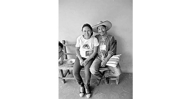 Samir con su compañera Liliana. Foto: Archivo de la familia Flores Velázquez
