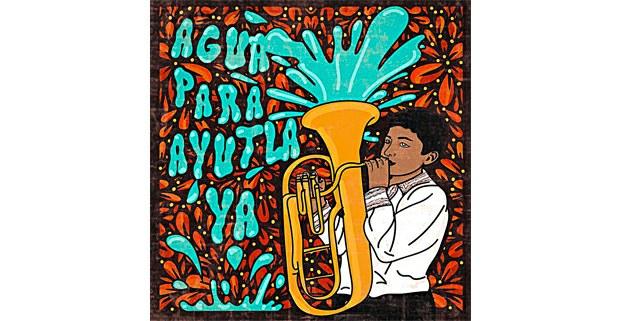Por Ayutla, ilustración de Zaira Ávalos