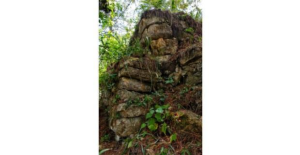 Vestigios mayas en las cañadas de la selva Lacandona, Chiapas. Foto: Mario Olarte