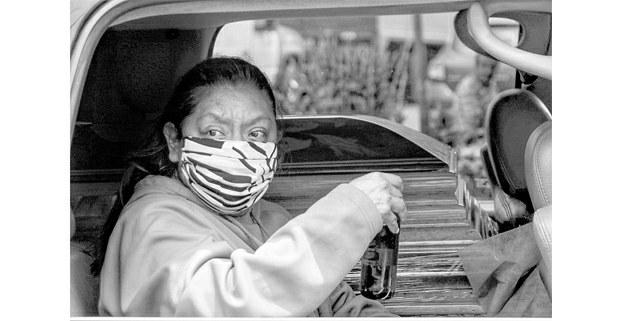 La muerte pasajera, CDMX, 2020. Foto: Mario Olarte
