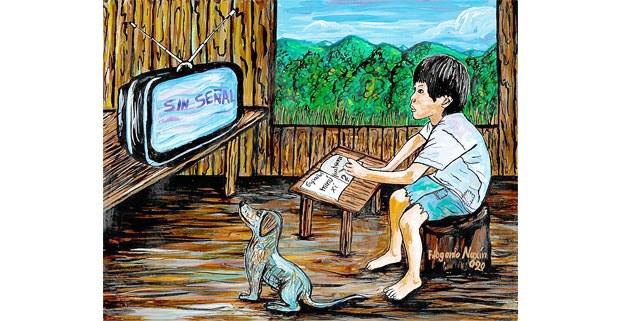 Ilustración: Filogonio Naxin, artista mazateco