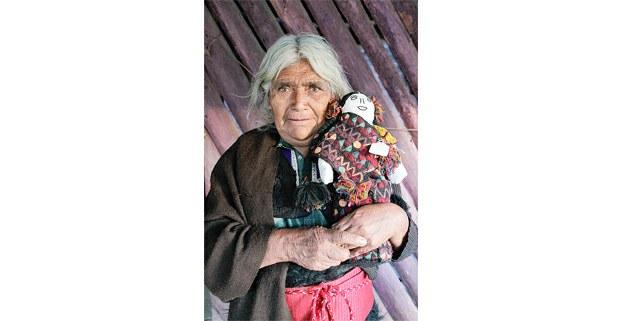 María Patishtán, artesana de San Juan Chamula, Chiapas. Foto: Luis Enrique Aguilar