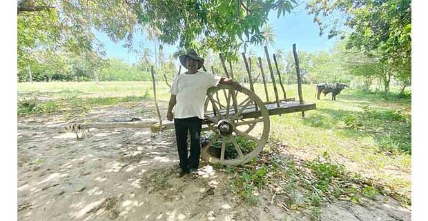Campesino zapoteca en el Istmo de Tehuantepec, Oaxaca, 2020. Foto: Jacciel Morales
