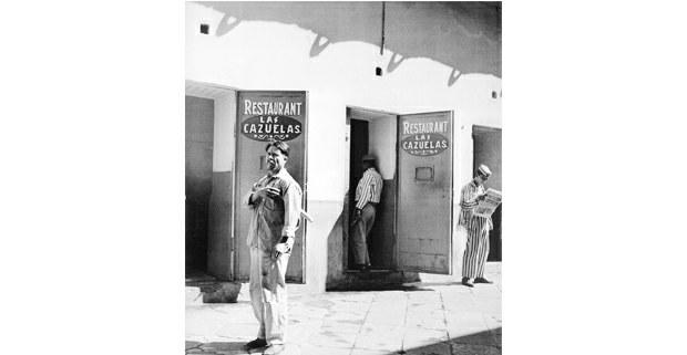 Penitenciaría de Lecumberri, México D. F., ca. 1951. Foto: Nacho López