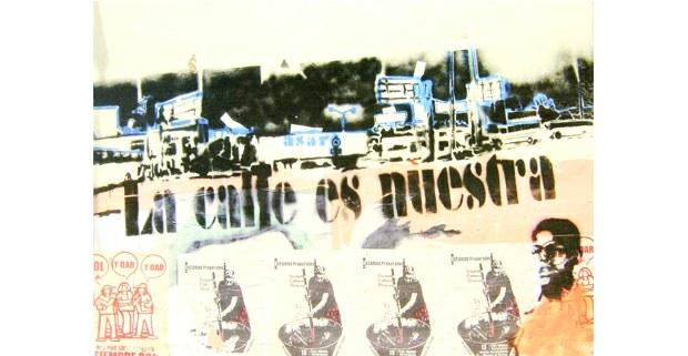 De Oaxaca en movimiento. La gráfica en la resistencia popular oaxaqueña. La Guillotina-Casa Vieja, México, 2013