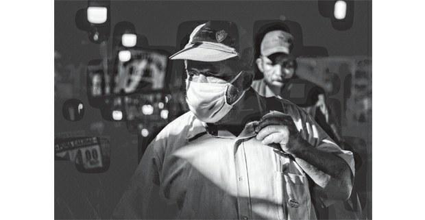 A un año de la pandemia. Foto: Mario Olarte