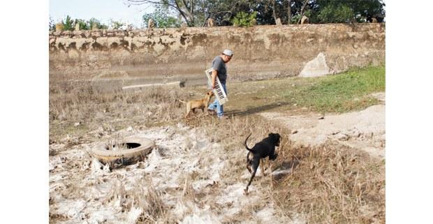 David Cabrera, en Cadereyta, Querétaro. Foto: Jerónimo Palomares
