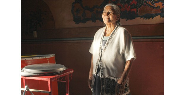 Doña Goyita, panadera en Cadereyta, Querétaro. Foto: Jerónimo Palomares