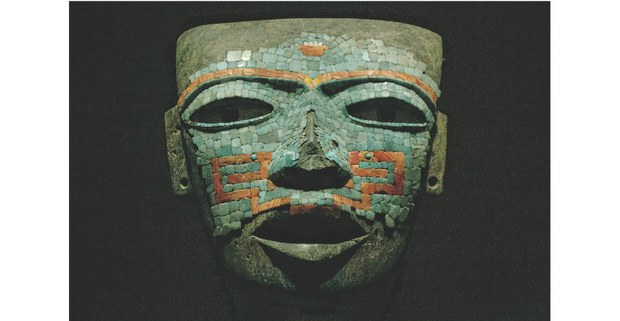 Máscara prehispánica de Malinaltepec, Museo Nacional de Antropología. Foto: Mario Olarte